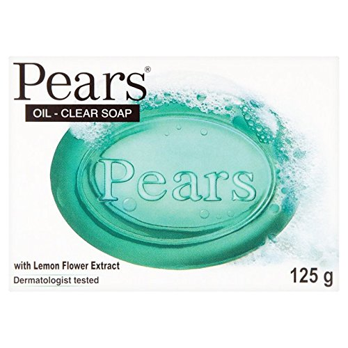 Pears Seife, Lemon Flower, transparent, Pure & Gentle, 125g