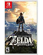 The Legend of Zelda Breath of the Wild Nintendo Switch Video Game (Nintendo Switch)