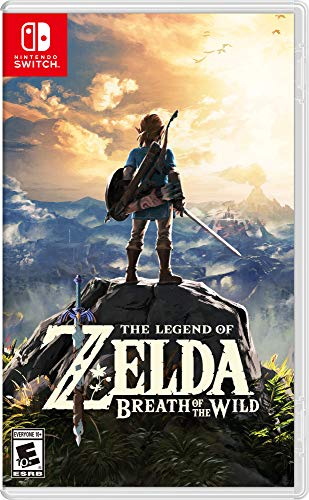The Legend of Zelda: Breath of the Wild Game (Switch) $39.99 | Super Mario Odyssey (Switch) $40