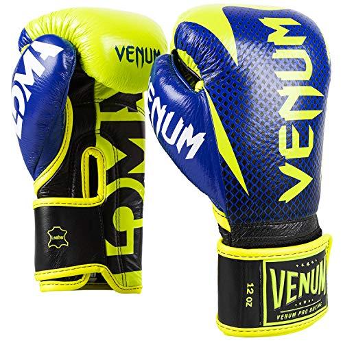 VENUM ハンマー プロボクシング グローブ ロマエディション ベルクロ Hammer Pro Boxing Gloves Loma Edition Velcro ブルー/イエロー VENUM-03912-405 (12oz)