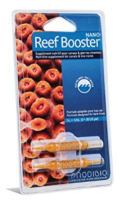 Prodibio Reef Booster Nano 2 Doses de supplément nutritif pour coraux & pierres vivantes