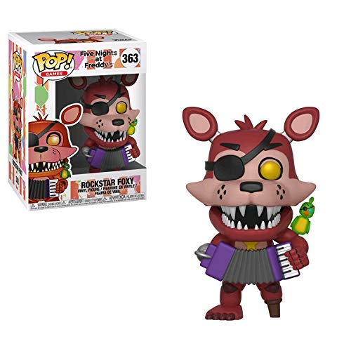 Pop! Five Nights At FreddyS - Figura de Vinilo Rockstar Foxy