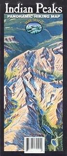Indian Peaks Panoramic Hiking Map