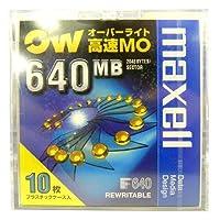 マクセル 3.5インチ オーバーライト対応 高速 MOディスク 640MB アンフォーマット 10枚パック maxell RO-M640.B10P