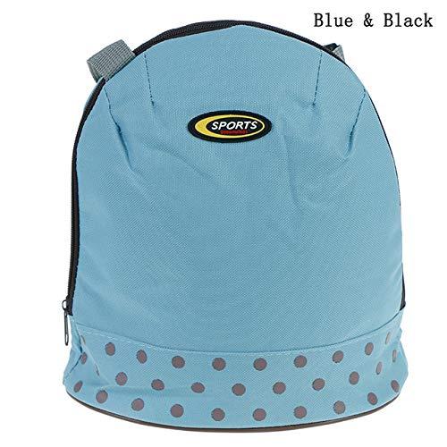 HCTX Caja de Almuerzo al Aire Libre Aislamiento Aislamiento Mochila Almacenamiento en frío Bolsa de Hielo Bolsa Caliente para preservar el Aislamiento de Big Bag Oxford,4