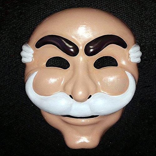 Sr. Robot Fsociety Máscara Blanco Anónimo Equipo Evil Hacker Group V Vago Recobro Anónimo En Entretenimiento TV para Adultos