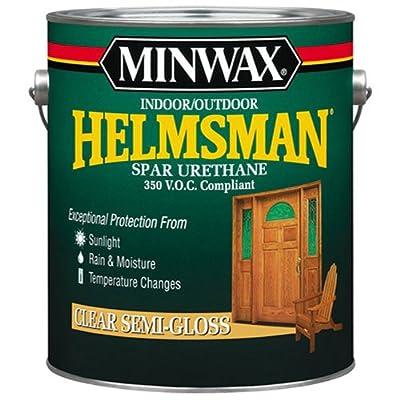 Minwax 132250000 Helmsman Indoor/Outdoor Spar Urethane 350 VOC, 1 gallon, Semi-Gloss