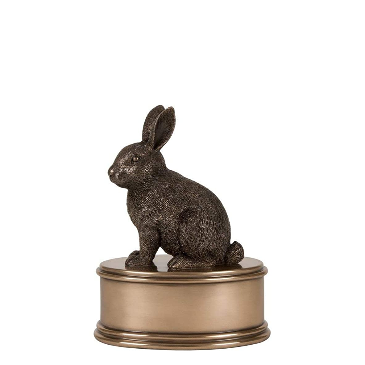 ワックス散歩に行く十分ですPerfect Memorials ウサギの置物火葬骨壺