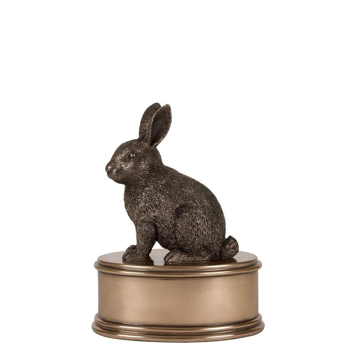 速記泥沼暗唱するPerfect Memorials ウサギの置物火葬骨壺