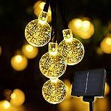 Solar String Lights Outdoor, Sunnest 30 LED 6M Waterproof Festival Lights LED Solar Lights Celebrate Wedding/Birthday/Christmas Party Colourful Solar String Lights