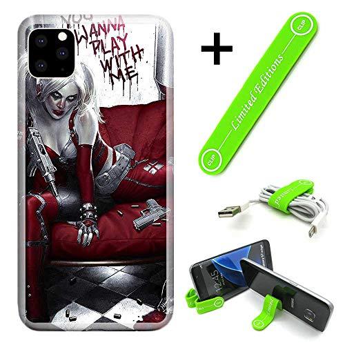 51N9OqOBygL Harley Quinn Phone Cases iPhone 11
