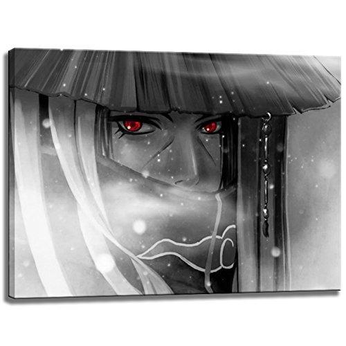 Photo Naruto Itachi sur Toile Format: 80 cm x 60 cm . Impression d'art de haute qualité comme une fresque. Moins cher qu'une peinture à l'huile! ATTENTION! Aucune affiche