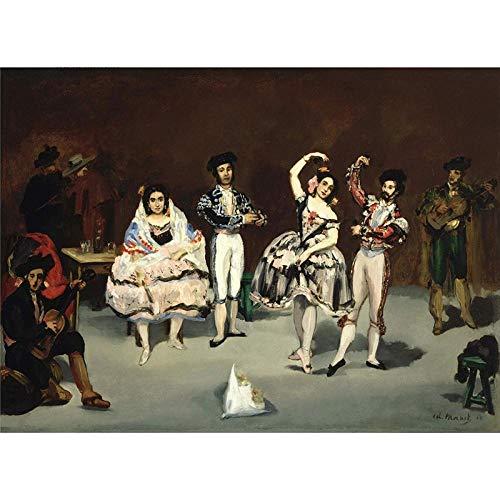 MTAMMD Puzzles Rompecabezas De Madera 500 1000 1500 2000 Piezas Antiguo Maestro Ballet Español Pintura Arte Juguete Educativo Regalo-500Pieces