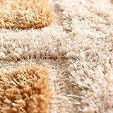 qazxsw Wohnzimmer Rutschfester Teppich Verdickte helle Seidenteppiche Fusselfreie Schlafzimmer-Bettmatten im modernen Stil - 3