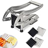 Best Fry Cutters - French Fry Cutter Potato Slicer LSOFNRB Stainless Steel Review