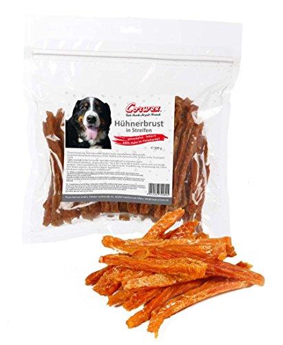 Corwex Hundesnack Hühnerbrust in Streifen (5 x 500g)