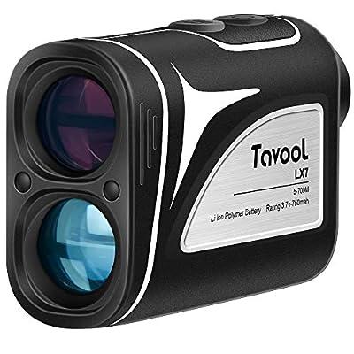 Tavool Laser Golf Rangefinder - 6X Golf Distance Range Finder 700 Yards Golf Range Finder for Golf with Slope Flag-Lock Vibration Function, Rechargeable Range Finder for Golfers Hunting Camping