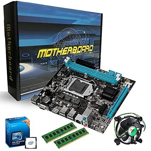Kit Placa Mãe + Processador + Memoria BOM BARATO