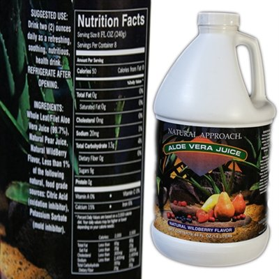 raw aloe juice - 4