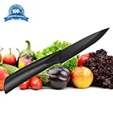Ceramic Paring Knife – Best & Sharpest 4' Professional Kitchen Knife – Hardest Blade Available That Doesn't Need Sharpening! FREE Stylish Blade Cover!