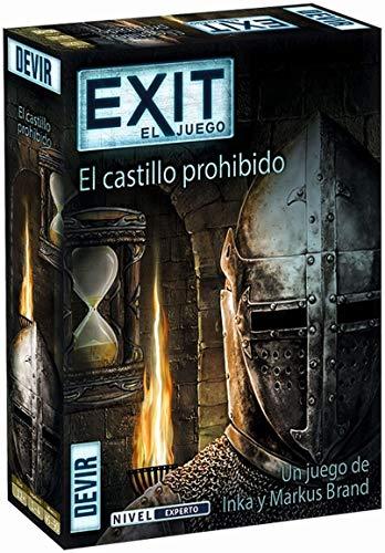 Devir - Exit: El castillo prohibido, Ed. Español (BGEXIT4) , color/modelo surtido