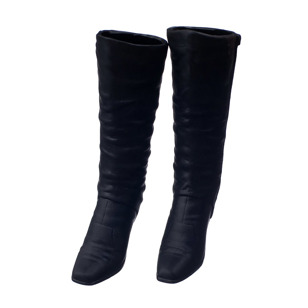 1:6 Scale High Boots Ankle Boots Shoes for 12-inch Action Figure Accessories
