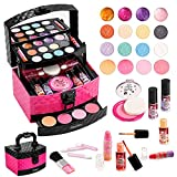 Mathea Real Makeup Girl Toys, Washable, Kids Makeup Kit for Girls, Makeup Set Cosmetic Beauty Set for Kids, Makeup Toy for Girls, Gift for Kids