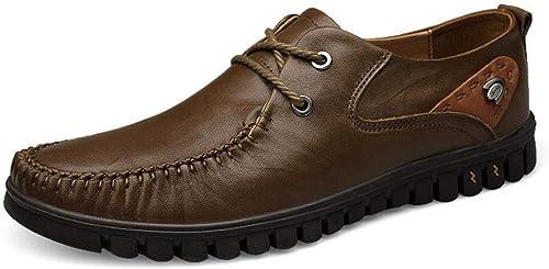 MAGAI Chaussures Décontractées, Chaussures Papa, Chaussures en Cuir Haut De Gamme pour Hommes