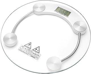 Báscula de baño digital de cristal medición 150kg