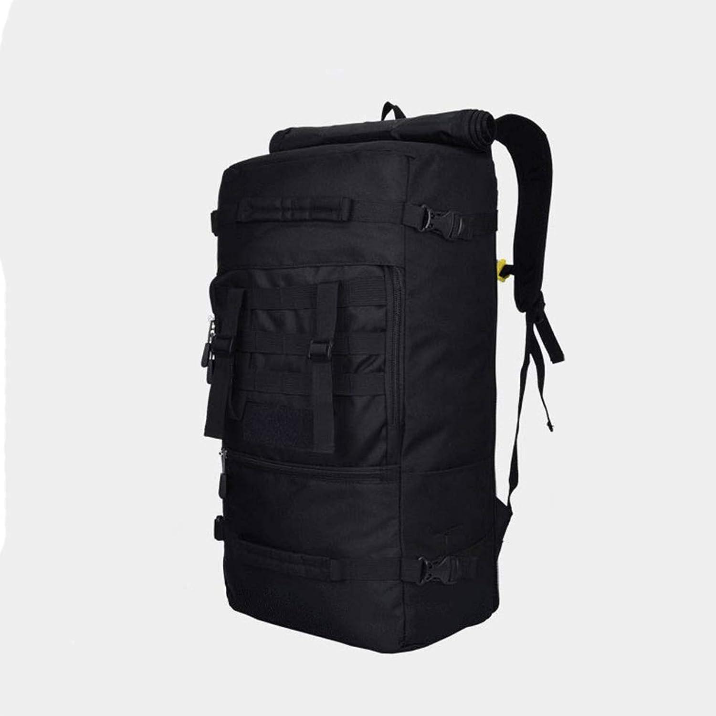 GAOGAS Wandern Rucksack 40L Große 600D Oxford Nylon Travel Packable Packable Packable Durable Für Reisen, Wandern, Camping, Outdoor-Aktivitäten,schwarz B07D1LLM42 | Eine Große Vielfalt An Modelle 2019 Neue  07cf40