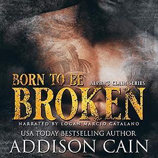 Born to Be Broken audiobook cover art