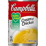 Campbell'sCondensedHealthy RequestCream of Chicken Soup, 10.5 oz. Can (Pack of 12)