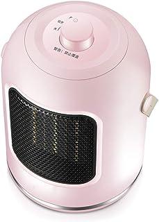 LYzpf Rápido Calentador de Ventilador Ajuste de 2 Modos Mini Pequeña Cerámica Portátil Calefactor Eléctrico Bajo Consumo de Energía para Habitación Oficina Baño,Pink