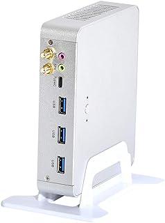 HUNSN 4K Mini PC,HTPC,Kodi Box,Desktop Computer,インテル Core I3 6157U,Windows 10 Pro/Linux Ubuntu,BM22,AC WiFi2.4+5Ghz/BT/DP/...