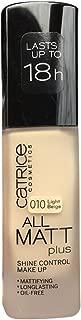 Catrice - base maquillaje all matt plus - shine control - 010 light be.