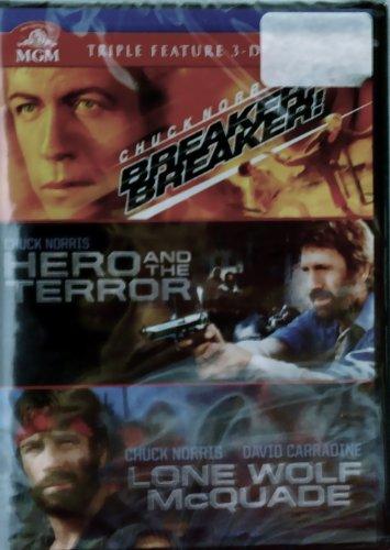 Chuck Norris: Triple Feature: Breaker! Breaker!, Hero and The Terror, Lone Wolf McQuade