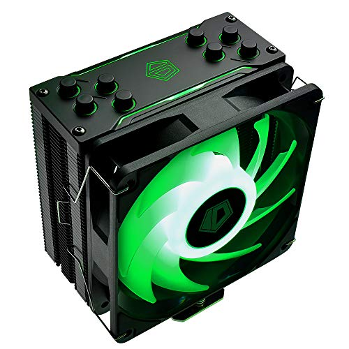 ID-COOLING SE-224-XT RGB CPU Cooler AM4 CPU Cooler 4 Heatpipes CPU Air Cooler 120mm PWM Fan Air Cooling for Intel/AMD