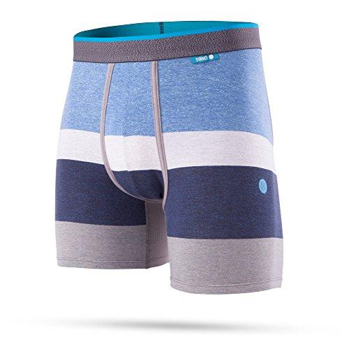 Stance Norm Wholester Boxeurs en Bleu - Homme ajusté Boer Slip sous-vêtements - Bleu, S (Small)
