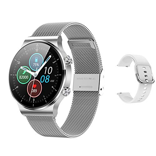 KBC Smartwatch M2pro Puede Responder A Los Relojes Inteligentes De Los Hombres, Carga Inalámbrica De La Pantalla De 1.3 Pulgadas, Bluetooth Music Sports Activity Tracker para Android iOS,F