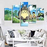 Pintura sin Marco Modern Anime Cat Art HD Print Wall Painting Poster Picture for Kids Room decorationZGQ4942 30x40cmx2, 30x60cmx2, 30x80cmx1