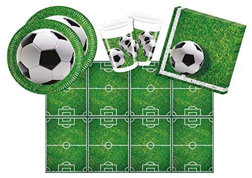 Procos 10110948B - Partyset de fútbol, tamaño S, 53 piezas
