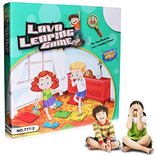 RainbowBeauty Xiton Der Boden Ist Lava 1 Box Eltern-Kind-interaktive Spiele Plattenspieler-Karte Fördert Die Körperliche Aktivität Familien-Spiel Spielt