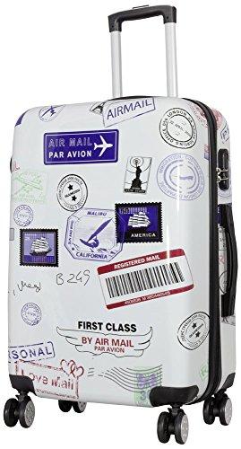 KoTaRu Motiv Koffer Flight Trolley Reisekoffer 3er Set oder einzelne Koffer M 68 Liter