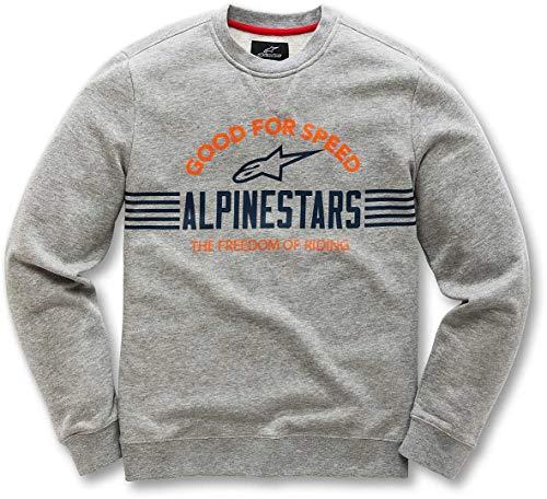 Alpinestars Herren Bars Fleece, Grey Heather, S