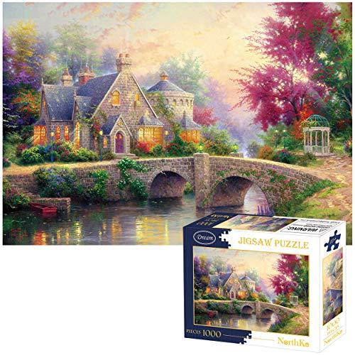 1000 piece puzzles winter - 1