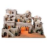 Holyart Borgo Arabo Completo con capanna 42x70x50 cm