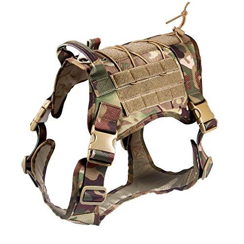 Feliscanis Tactical Service Dog Vest Military...