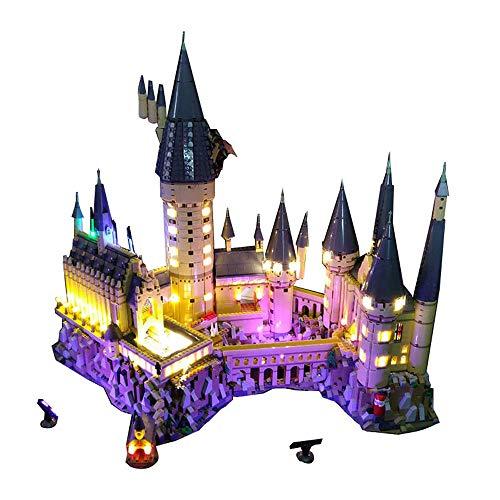 LED Beleuchtungsset für Lego 71043 Harry Potter Schloss Hogwarts, Beleuchtung Licht Kompatibel mit Lego 71043...