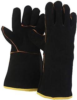 FZTEY Heat&Fire&Hot Resistant Welding Oven Mig Safety Work Garden Gloves