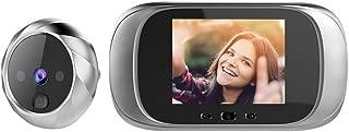 Digital Door Viewer Peephole Door Camera Doorbell 2.8-inch LCD Screen Night Vision Photo Shooting Digital Door Monitoring for Home Security